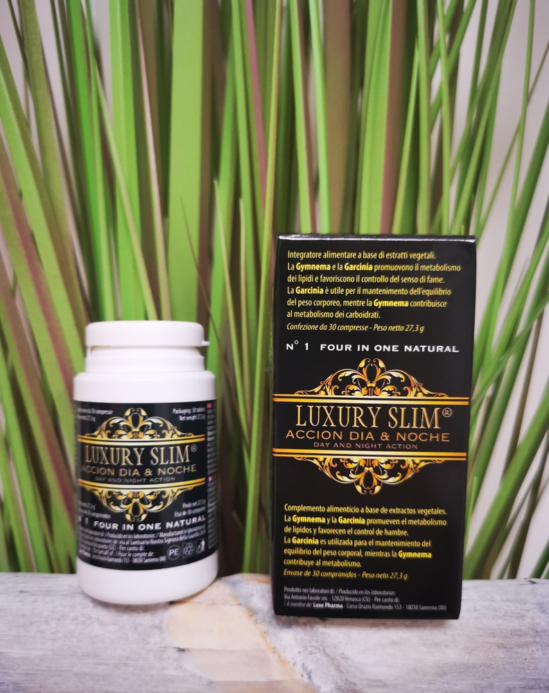 LUXURY SLIM® TRATAMIENTO ADELGAZANTE 6 MESES - 12 BOTES (Pérdidas + de 25 Kilos) Envío Gratuito