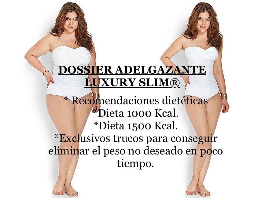 LUXURY SLIM® TRATAMIENTO ADELGAZANTE 9 MESES -18 BOTES (Obesidad Mórbida) Envío Gratuito